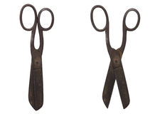 Rusty scissors Stock Photos