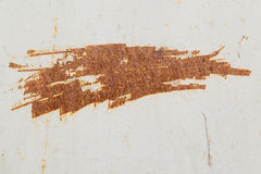 Rusty scratches on a wall Stock Image