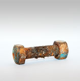 Rusty screw Stock Images