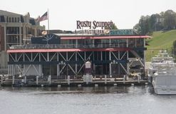 Rusty Scupper Restaurant, Baltimore le Maryland Photographie stock