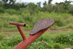 Rusty seesaw Royalty Free Stock Images