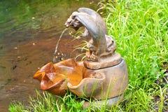 Rusty Serpent Fountain Imágenes de archivo libres de regalías