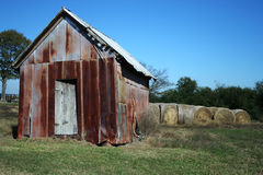 Rusty Shed Royalty Free Stock Image