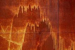 Rusty sheet Stock Image