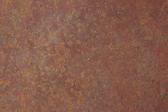 Rusty sheet of iron Royalty Free Stock Images