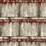 Rusty sheet metal Stock Image