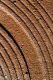 Rusty sheet metal background Royalty Free Stock Photo