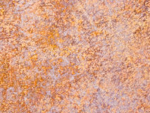 Rusty sheet metal Stock Images