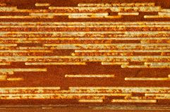 Rusty Sheet Metal Texture Royalty Free Stock Image