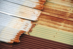 Rusty Sheet Metal Texture Royalty Free Stock Photos