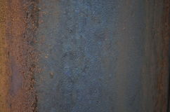 Rusty sheet texture. Great for textures where you can write and 3D objects Royalty Free Stock Photo