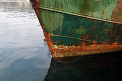 Rusty ship Royalty Free Stock Image