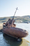 Rusty ship Royalty Free Stock Images