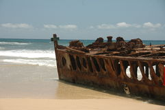 Rusty Shipwreck Stock Photo