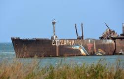 Rusty Shipwreck Royalty Free Stock Photos