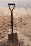 Rusty shovel Stock Image