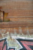 Rusty shutter Stock Image