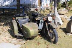 rusty sidecar Stock Image