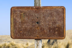 Rusty Sign Stock Photos