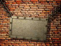 Rusty signboard Royalty Free Stock Image