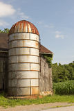 Rusty Silo and Barn Stock Photos