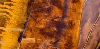 3 Rusty Slabs de fer Image libre de droits