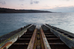 Rusty Slipway Royalty Free Stock Photography