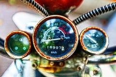Rusty speedometer Stock Image