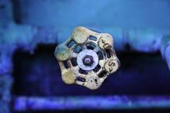 Rusty Spigot Handle Royaltyfria Bilder