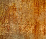 Rusty square grungy wall. stock image