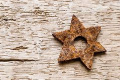 Rusty star Stock Photos