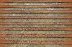 Rusty staves metal texture Royalty Free Stock Photos