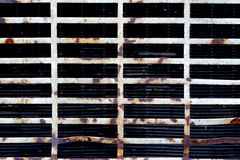 Rusty staves metal texture background Royalty Free Stock Images