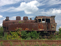Rusty steam locomotive Royalty Free Stock Photo
