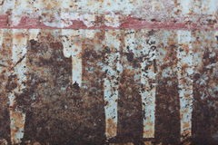 Rusty steel Royalty Free Stock Image