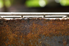 The rusty steel Stock Photo