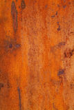 Rusty steel. Background texture captured from a rusty steel sheet Royalty Free Stock Photo