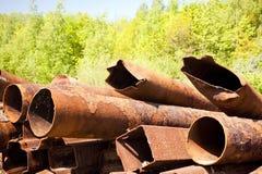 Rusty Steel Stockfotografie