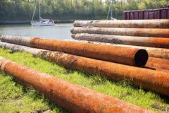 Rusty Steel Stockfoto