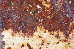 Rusty steel Stock Image