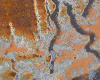 Rusty steel background Royalty Free Stock Photography