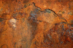 Rusty steel background Royalty Free Stock Photo
