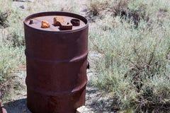 Rusty Steel Drum Stock Photos