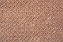Rusty steel floor. Stock Photos