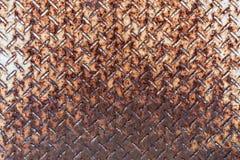 Rusty Steel Floor Texture Background Royalty-vrije Stock Foto