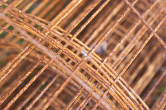 Rusty steel framework. Royalty Free Stock Photo