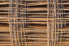 Rusty steel framework. Royalty Free Stock Image