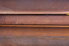 Rusty steel girders Stock Photography