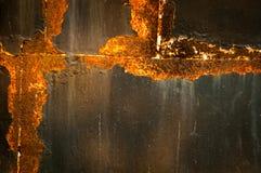 Rusty steel Royalty Free Stock Image