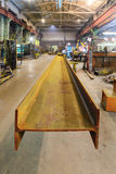 Rusty steel I-beams. Stock Photo